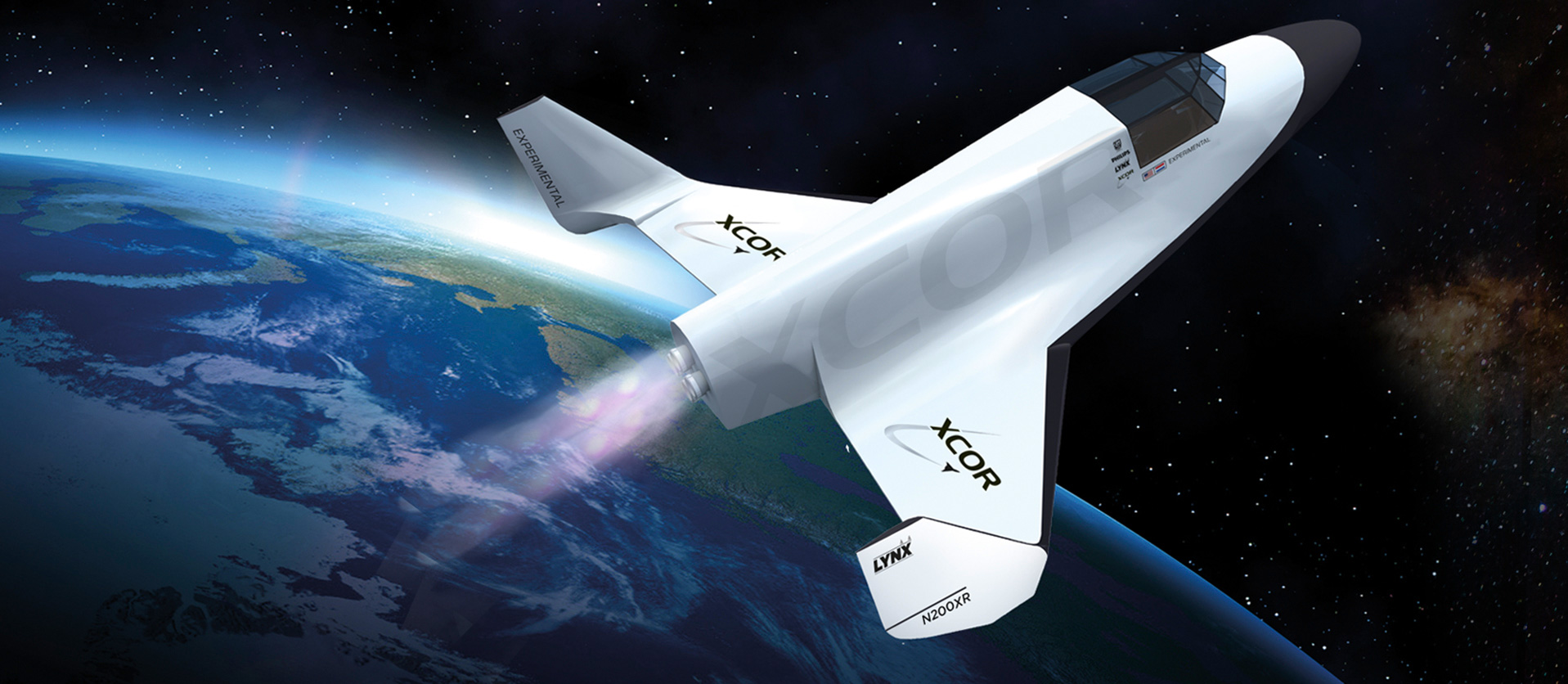 lynx spacecraft xcor aerospace